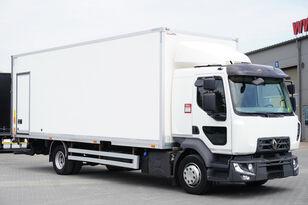 camion furgon RENAULT Midlum D12 , E6 , SLEEP CAB , 18 EPAL Box , Tail lift , side doo