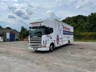 camion furgon SCANIA 124
