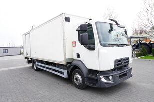 camion izoterma RENAULT D12 , E6 , 4x2 , Box 18 EPAL side door  , tail lift Dhollandia