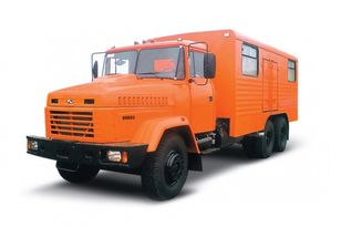 camion militar KRAZ 65053 мастерская nou