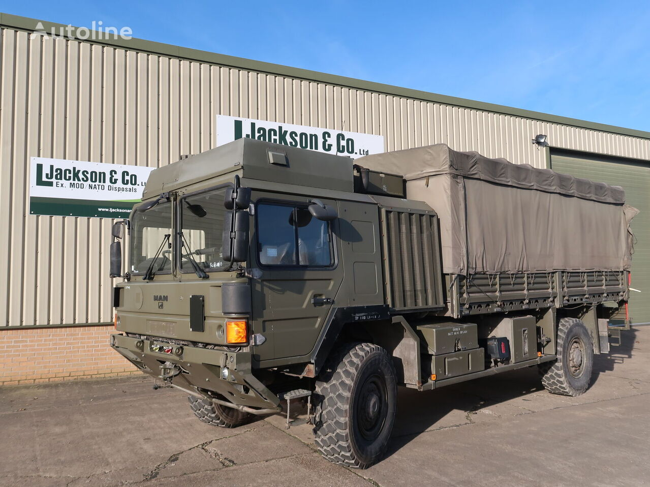 camion militar MAN HX60 18.330 4x4 Army Truck