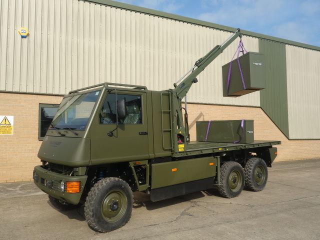 MOWAG Duro II camion platformă nou