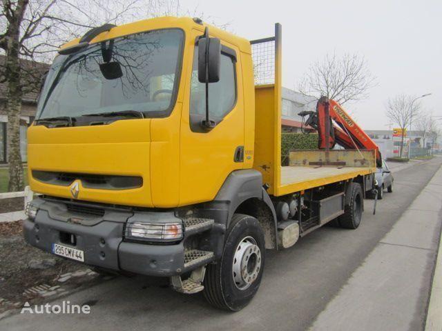 RENAULT KERAX 340 PALFINGER PK - 12080 camion platformă