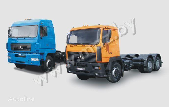 MAZ 6312 camion şasiu