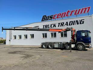 camion sistem de cablare SCANIA R 480 8x4 Crane Palfinger PK 20002