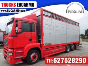 camion transport animale MAN TGA 26 350