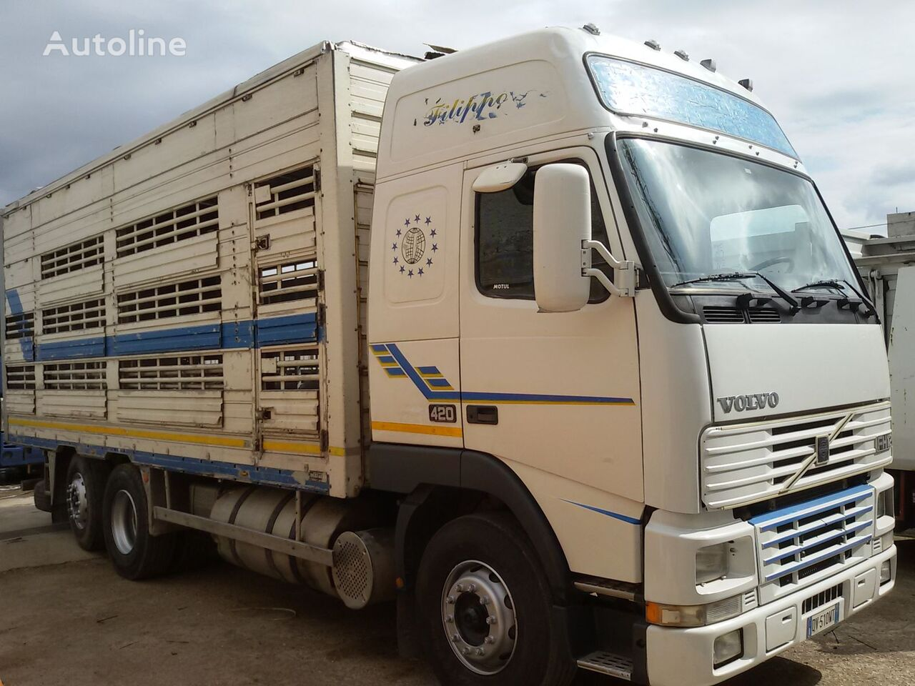 camion transport animale VOLVO FH 12 420