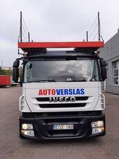 camion transport auto IVECO STRALIS + remorcă transport auto