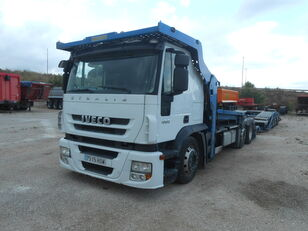 camion transport auto IVECO Stralis AS190S45