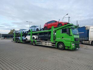 camion transport auto MAN TGS