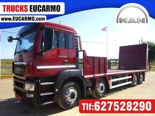 camion transport auto MAN  TGS 35 440