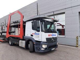 camion transport auto MERCEDES-BENZ ACTROS + remorcă transport auto