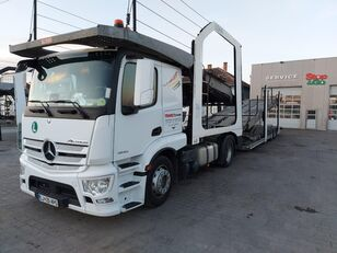 camion transport auto MERCEDES-BENZ Actros 1843