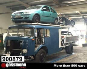 camion transport auto MERCEDES-BENZ LF16V LP710/32