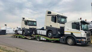 camion transport auto SCANIA P400