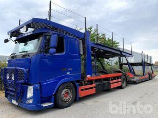 camion transport auto VOLVO FH 460