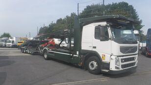 camion transport auto VOLVO FM13 420 Autotransporter Kassbohrer