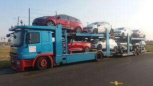 camion transport auto MERCEDES-BENZ Actros 1836