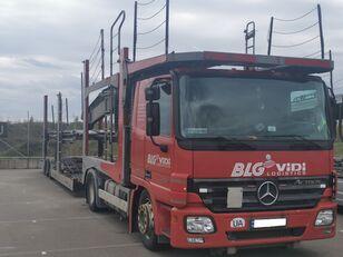 camion transport auto MERCEDES-BENZ Actros 1841 + remorcă transport auto