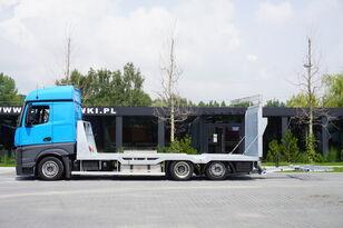 camion transport auto MERCEDES-BENZ Actros 2542 , E6 , MEGA , NEW BODY , car tow 10T , hydraulic ram