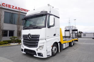 camion transport auto MERCEDES-BENZ Actros 2545 , E6 , 6x2 , NEW BODY 2021 , 7.9m , ramps , winch