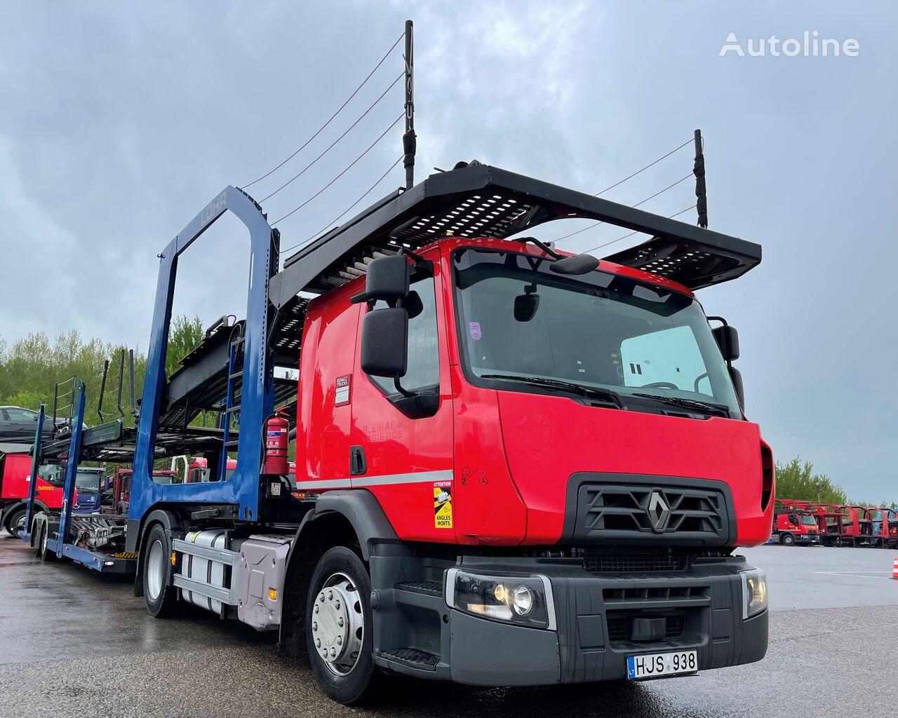 camion transport auto RENAULT D WIDE LOHR C2H99S