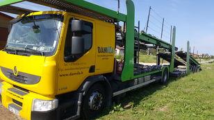 camion transport auto RENAULT Premium 370.18 Euro5 !!! + remorcă transport auto