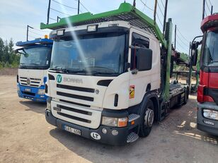 camion transport auto SCANIA P340