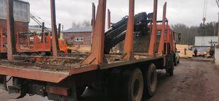 camion transport de lemne KAMAZ Манипулятор