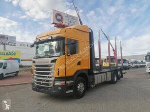 camion transport de lemne SCANIA 420