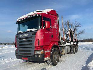 camion transport de lemne SCANIA R-420