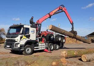 camion transport de lemne VOLVO FMX 540 6X4 FAYMONVILLE PALFINGER EPSILON