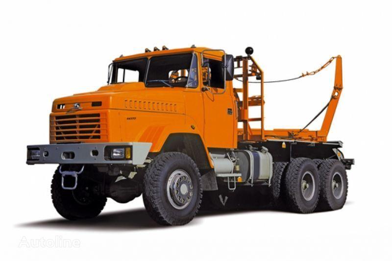 KRAZ 64372 tip 2  camion transport de lemne