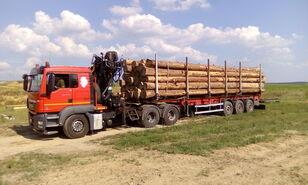 camion transport de lemne MAN TGS 26.480 6x4 BB