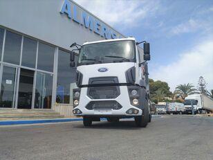 camion utilaj ridicare container gunoi FORD 1833D. Camion portacontenedores de cadenas