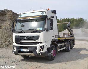 camion utilaj ridicare container gunoi VOLVO FMX