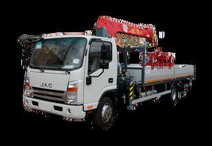 dropside camion JAC Бортовой автомобиль с КМУ FG-414 nou