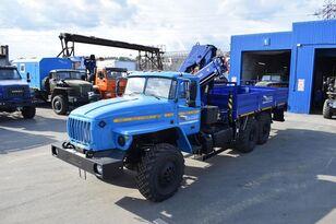 dropside camion URAL Бортовой автомобиль Урал 4320 с г/м АНТ-7,5-2 nou