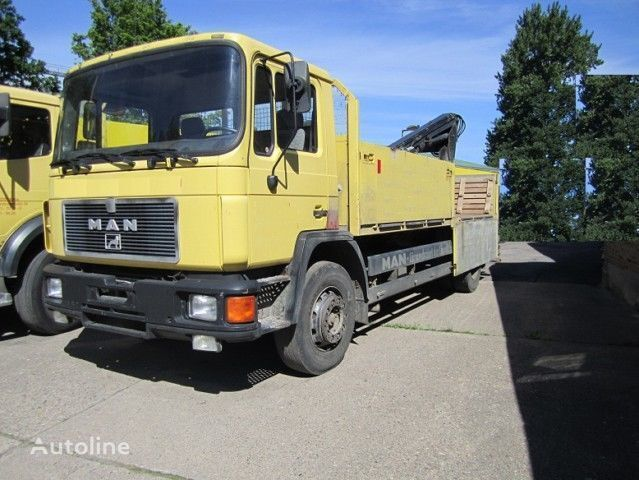 MAN 18.190 Pritsche  4x2 dropside camion