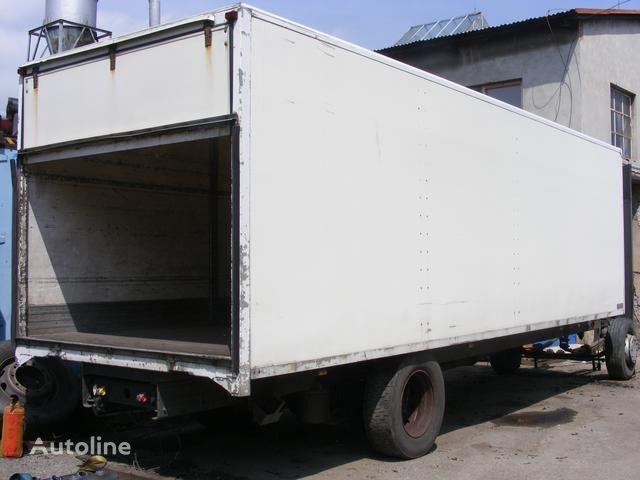 prachotěsná nástavba MONTEX dropside camion