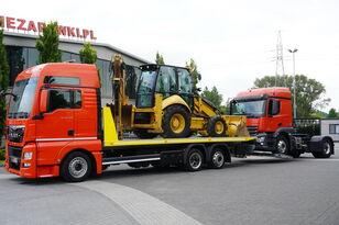 tractari auto MAN TGX 26.440 XXL , E6 , 6X2 , NEW BODY 7,5m , hydraulic , 2x winch