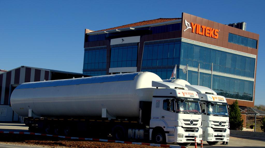 YILTEKS LPG Storage Tank cisternă LPG nouă