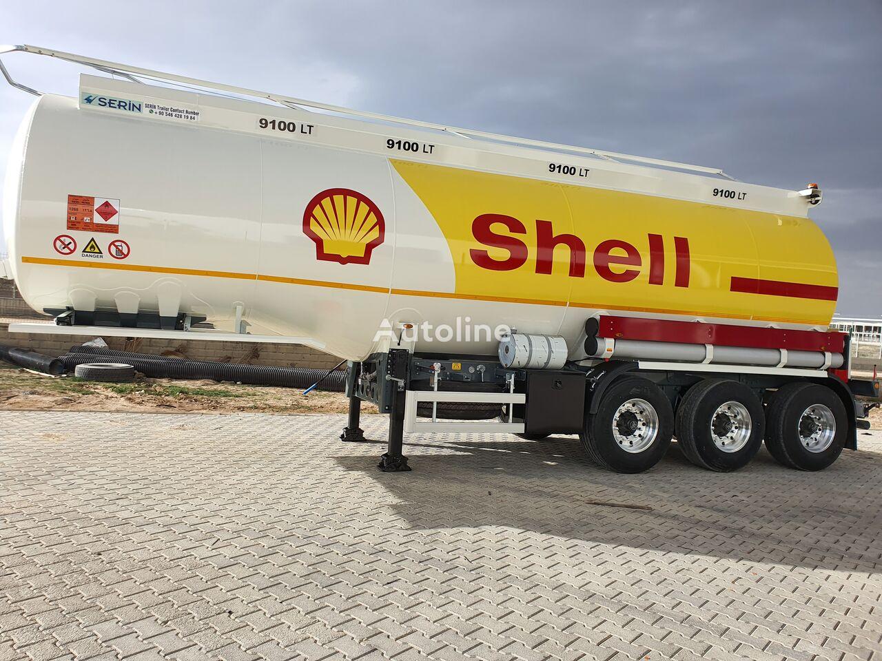 cisternă pentru combustibil SERIN Aluminium Fuel Tank Semi Trailer nouă