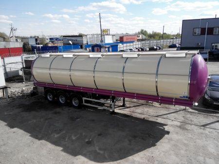 FELDBINDER (ID-4095) polupricep cisterna pishchevaya cisternă pentru produse alimentare