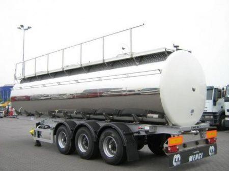 SANTI SANTI-MENCI pishchevaya cisterna BPW ECO-AIR SANTI-MENCI cisternă pentru produse alimentare nouă