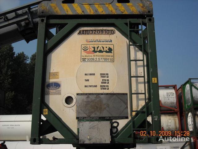 CPV 30 PIEDI L4BH multiscomparto cisternă pentru produse chimice