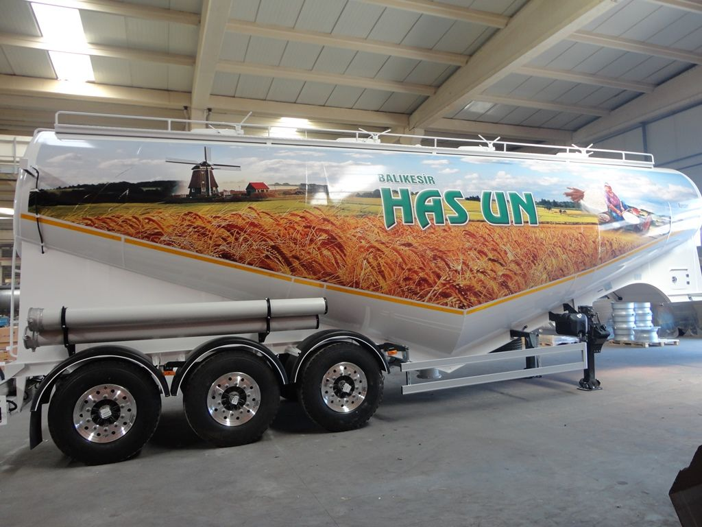 NURSAN Mukovoz cisternă pentru transport făină nouă