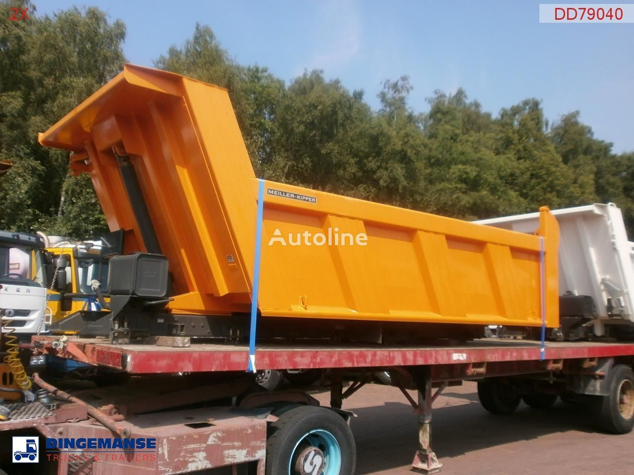 MEILLER Tipper 115 h new/unused bena basculabila nou