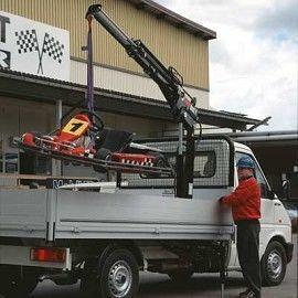 HIAB 022 T macara montată nou
