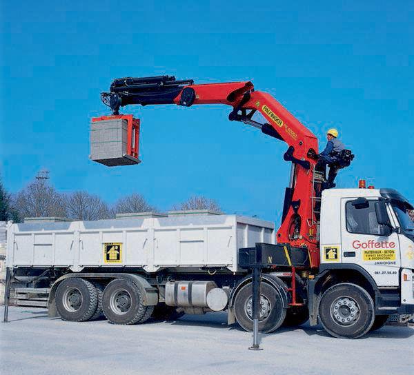 PALFINGER PK 40002 High Performance macara montată nou